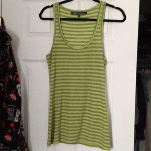 3/$20 Green sparkly tank top, size medium